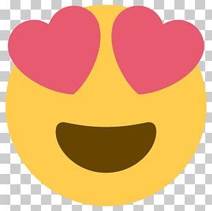 Smiley Heart Emoticon Eye Emoji PNG
