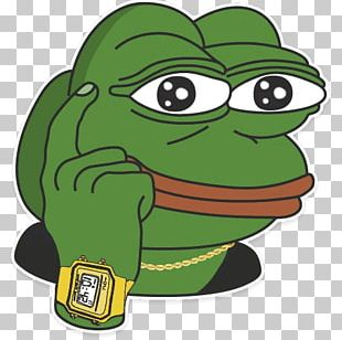 Pepe The Frog /pol/ Sticker Reddit Emoticon PNG