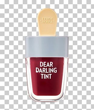 Tints And Shades Peach Gel Ice Cream Lip Stain PNG