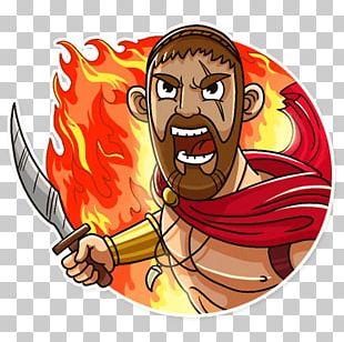 Little Sparta Telegram Sticker PNG
