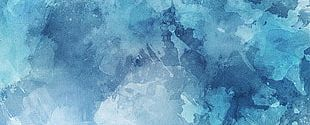 Blue Watercolor Background PNG