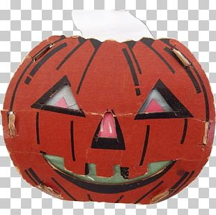 Jack-o'-lantern Helmet PNG