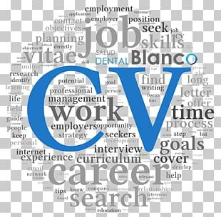 Curriculum Vitae Résumé Cover Letter Template PNG