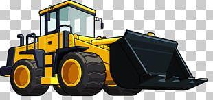 Loader Heavy Equipment Excavator PNG