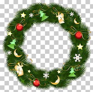 Christmas Ornament Santa Claus Wreath PNG
