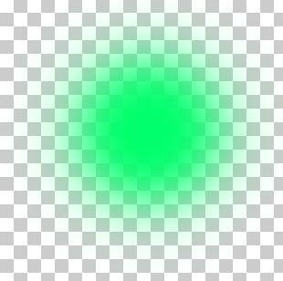 Green Circle Turquoise Pattern PNG