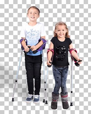 Crutch Child Boy Disability Toddler PNG