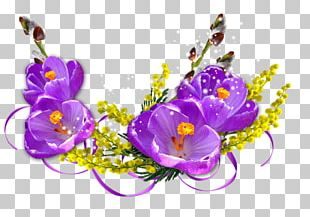 International Women's Day 8 March Woman Floral Design Flower PNG