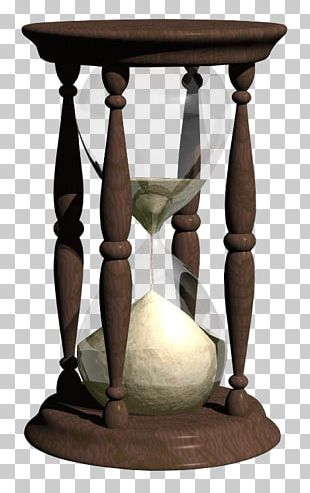 Hourglass Sand Clock Timer PNG