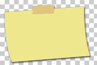 Paper Brand Yellow PNG