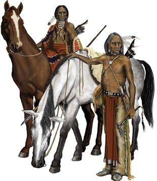 Horse Great Plains Plains Indians Native Americans In The United States Comanche PNG