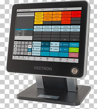 Point Of Sale Cash Register Touchscreen Blagajna Vectron Systems AG PNG