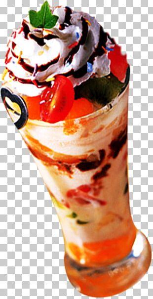 Ice Cream Sundae Frozen Yogurt Parfait PNG