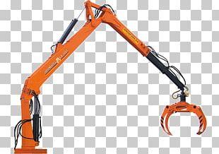 Manipulator Кран-маніпулятор Machine Logging Truck Crane PNG