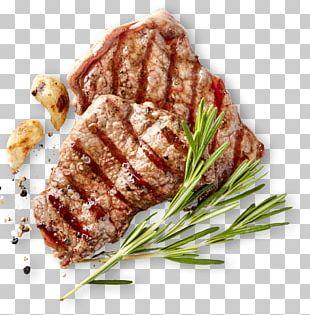 Bistro Barbecue Beefsteak Meat PNG