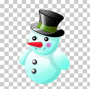 Snowman Christmas Emoticon Icon PNG