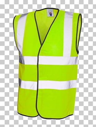 T-shirt High-visibility Clothing Waistcoat Gilets Workwear PNG