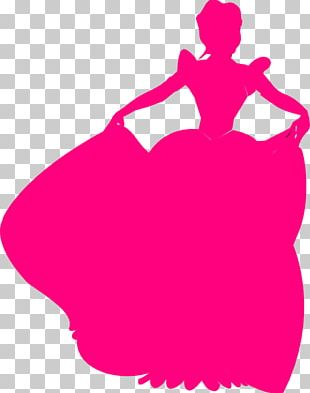 Cinderella Belle Disney Princess Silhouette PNG