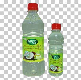 Coconut Oil Plastic Bottle Liquid Water PNG