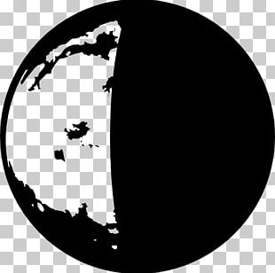 Lunar Phase Earth Moon Symbol PNG
