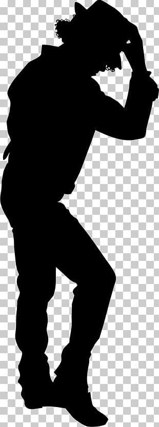 Moonwalk Dance Silhouette PNG
