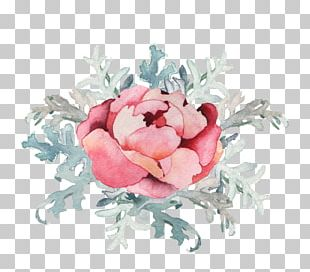 Watercolor Painting Logo Flower Floral Design Photography PNG