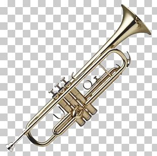 Trumpet And Saxophone PNG