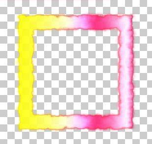 Frames Pink M Rectangle PNG