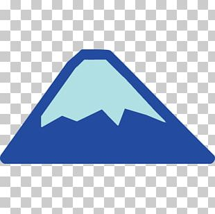 Mount Fuji Emoji Text Messaging SMS Sticker PNG