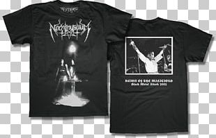 T-shirt Nachtmystium Reign Of The Malicious Hoodie PNG