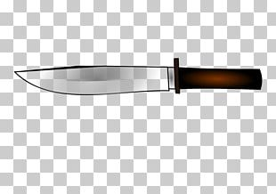 Bowie Knife Hunting & Survival Knives Utility Knives Blade PNG