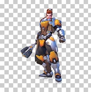 Overwatch League Brigitte Video Game Characters Of Overwatch PNG