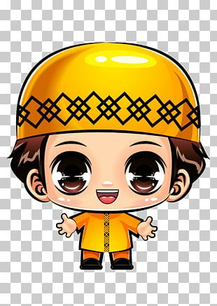 Chibi Muslim Cartoon Child Comics PNG