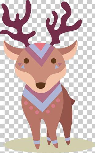 Deer Elk Cartoon PNG