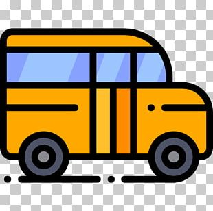 School Bus Car Transport Vehicle PNG