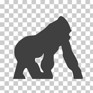 Gorilla Primate African Elephant Computer Icons Endangered Species PNG