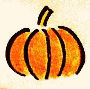 Cucurbita Maxima Pumpkin Pie Drawing PNG