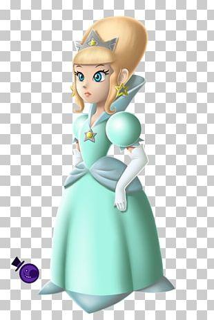 Rosalina Princess Peach Mario Bros. Concept Art PNG