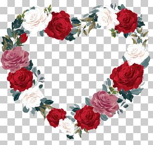 Valentine's Day Gift Garden Roses 14 February Flower Bouquet PNG