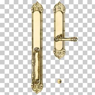 Brass 01504 Door Handle Lock Material PNG