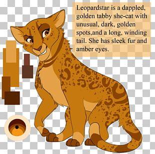 Cats Of The Clans Warriors Firestar Leopardstar PNG