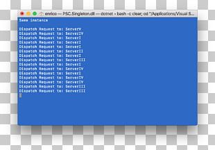 Singleton Pattern C# .NET Framework Instance Class PNG