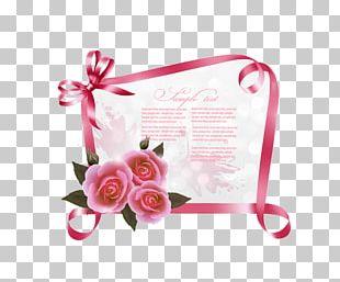 Wedding Invitation Greeting Card Birthday Ribbon PNG