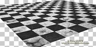 Chessboard Tile Flooring PNG