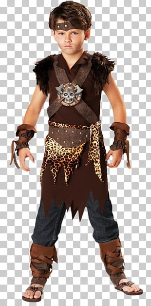 Costume Party Halloween Costume Cavewoman Child PNG