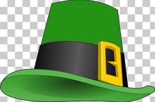 Saint Patricks Day Leprechaun Shamrock PNG