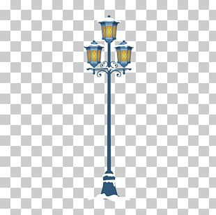 Snow Street Light Icon PNG