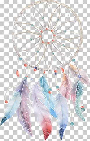 Dreamcatcher Watercolor Painting Boho-chic PNG