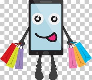 Online Shopping E-commerce Bag PNG