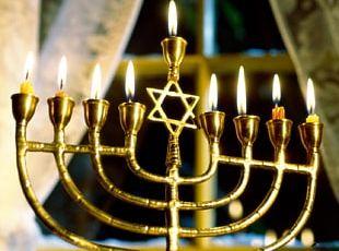 Temple In Jerusalem Menorah Hanukkah Judaism Jewish Holiday PNG